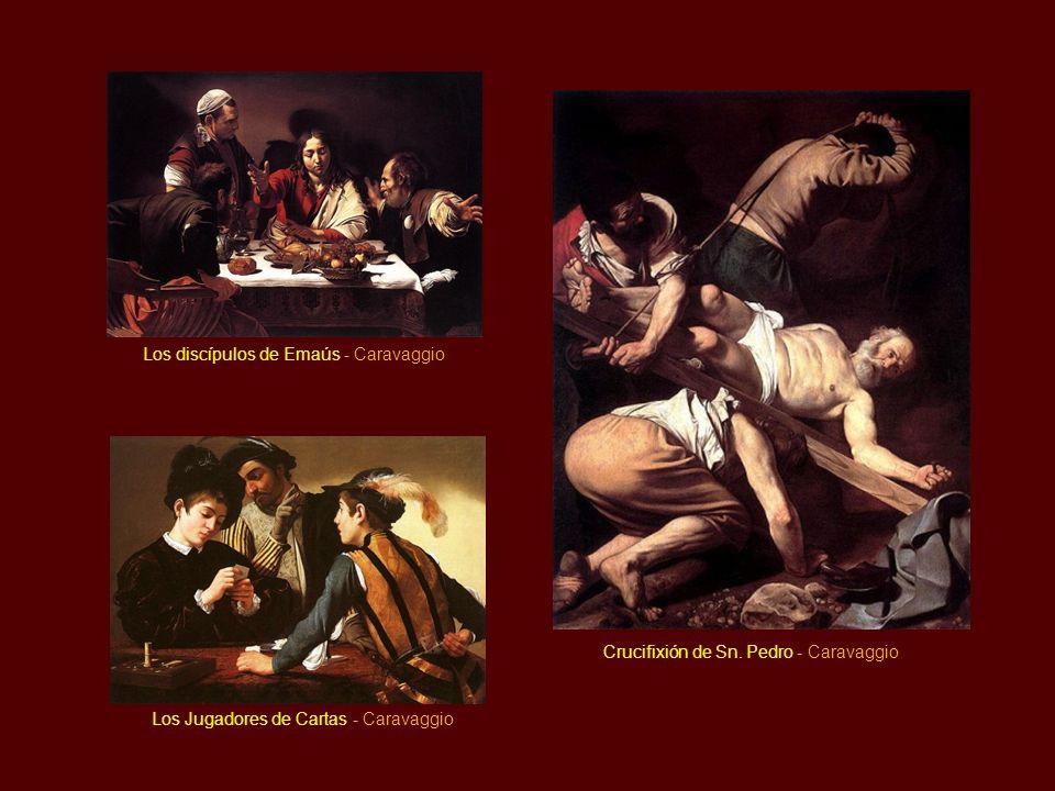 Los discípulos de Emaús - Caravaggio