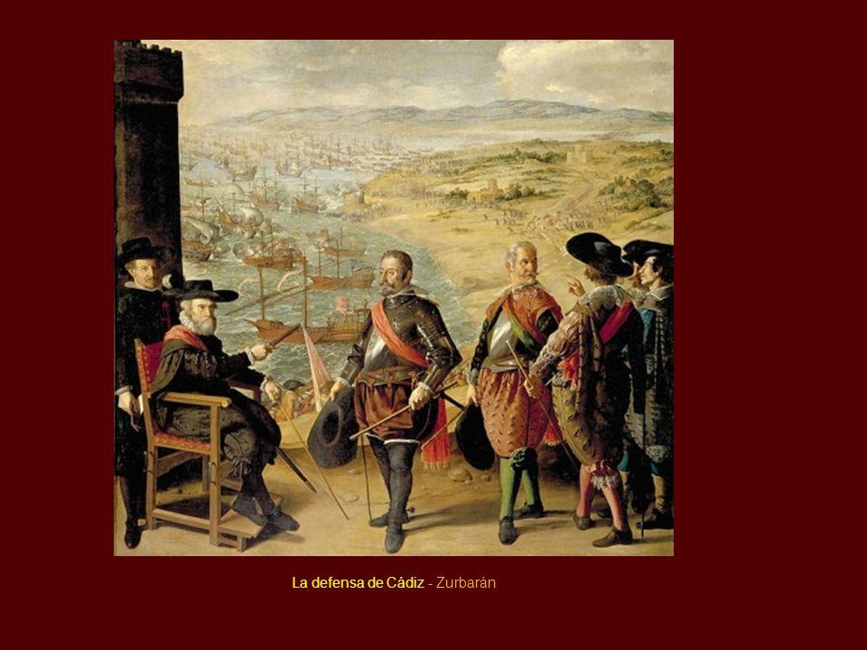 La defensa de Cádiz - Zurbarán