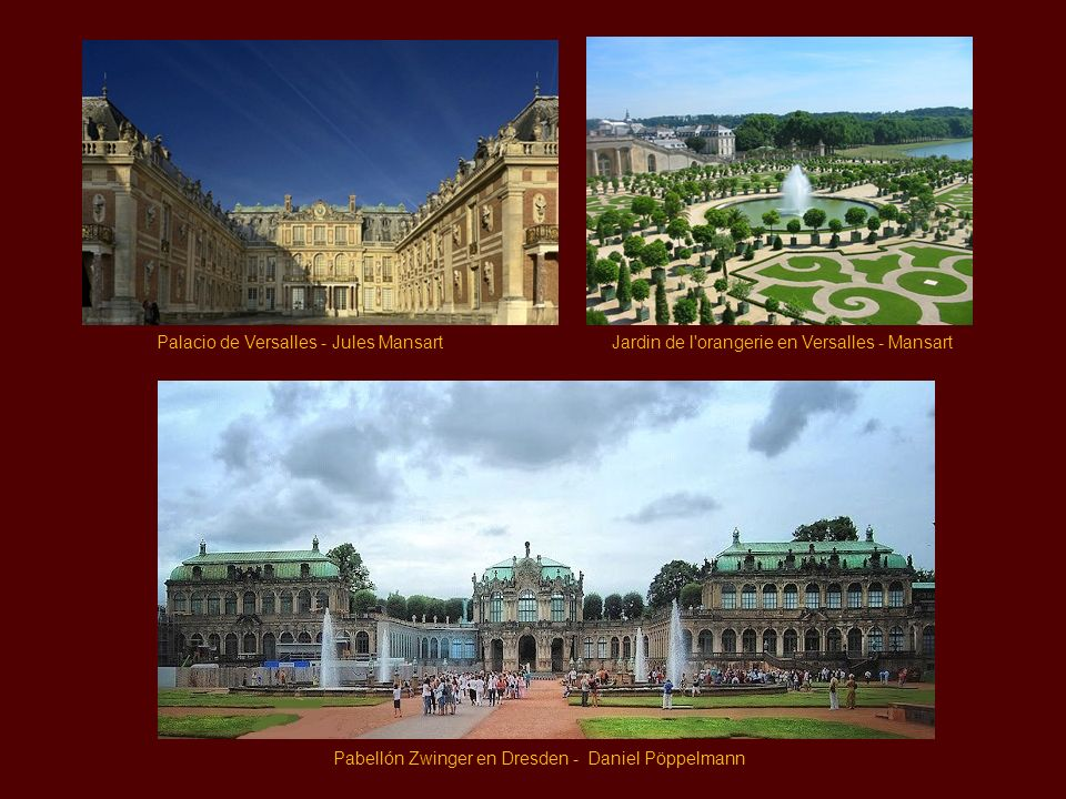 Palacio de Versalles - Jules Mansart