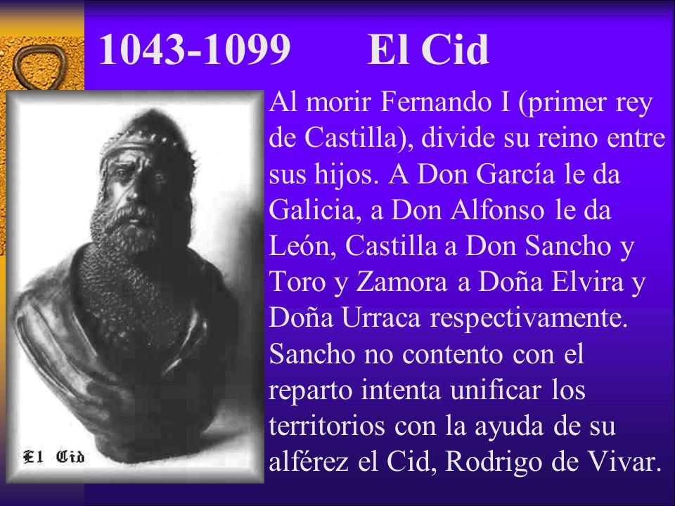 1043-1099 El Cid