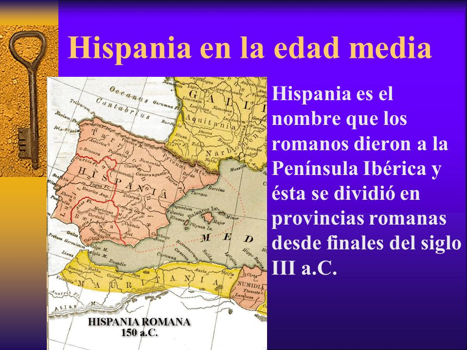 Hispania en la edad media