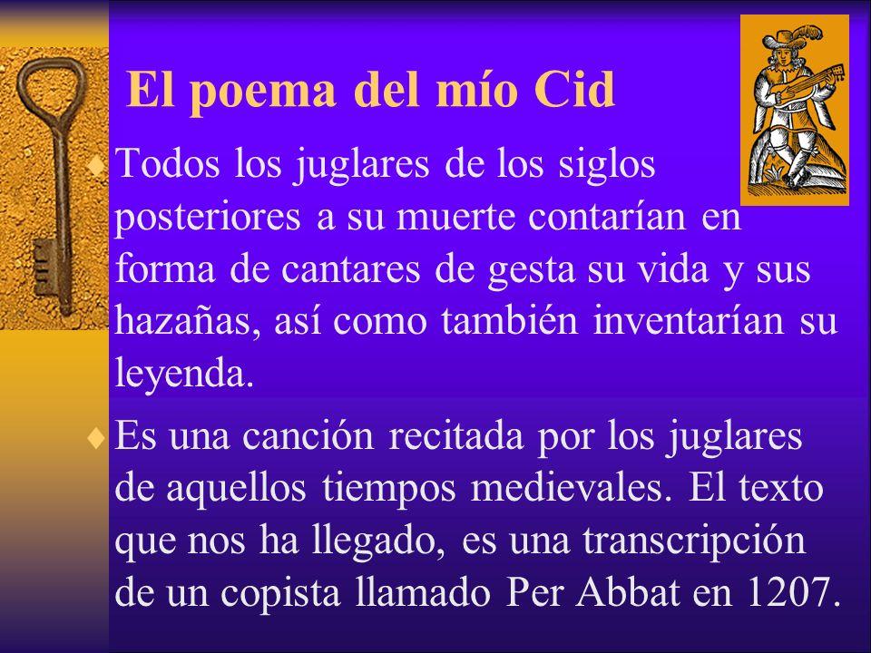 El poema del mío Cid