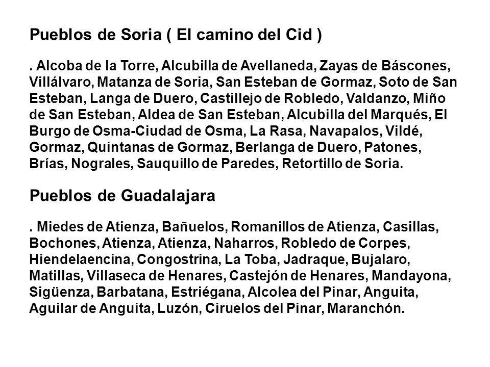 Pueblos de Soria ( El camino del Cid )
