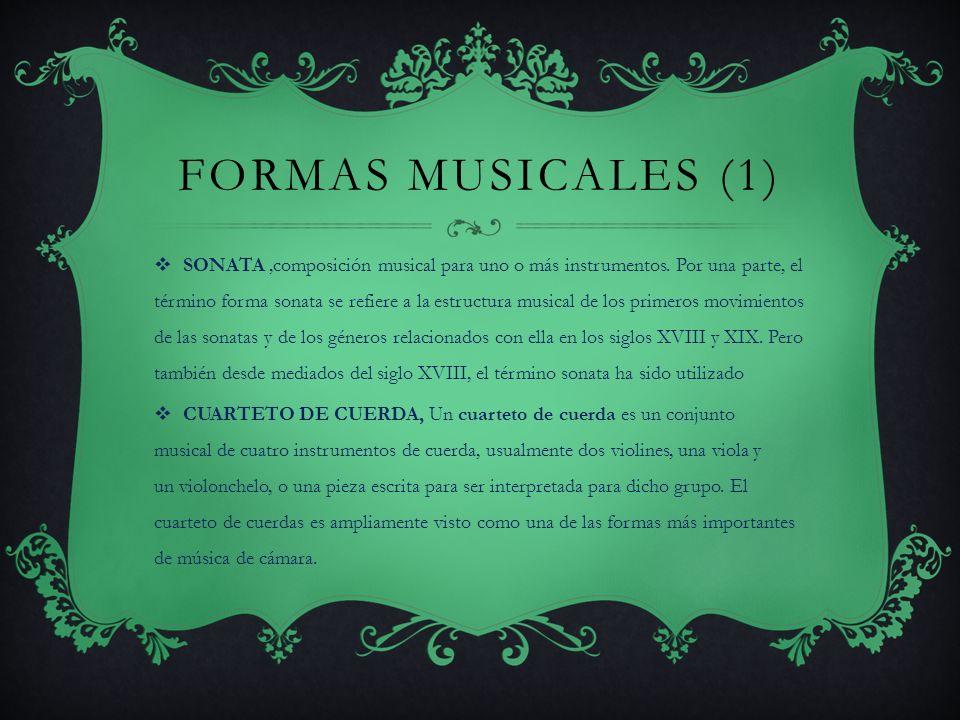 FORMAS MUSICALES (1)