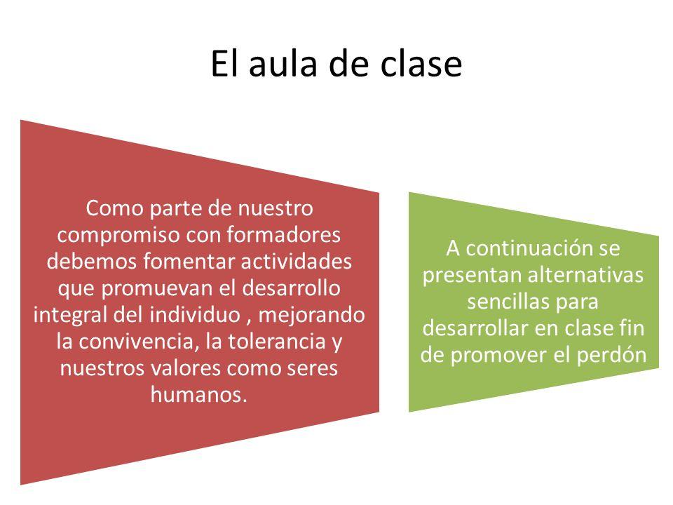 El aula de clase
