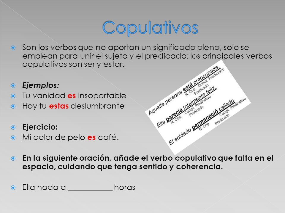 Copulativos