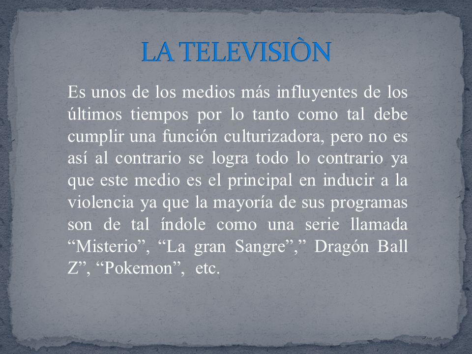 LA TELEVISIÒN