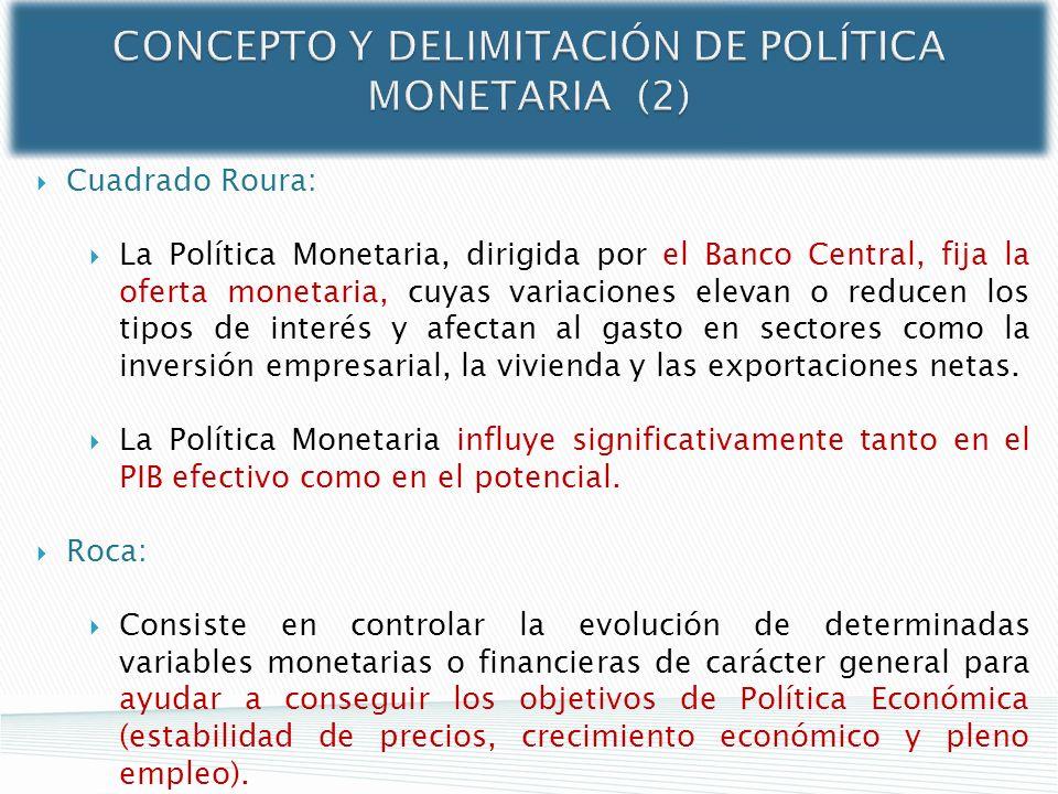 CONCEPTO Y DELIMITACIÓN DE POLÍTICA MONETARIA (2)