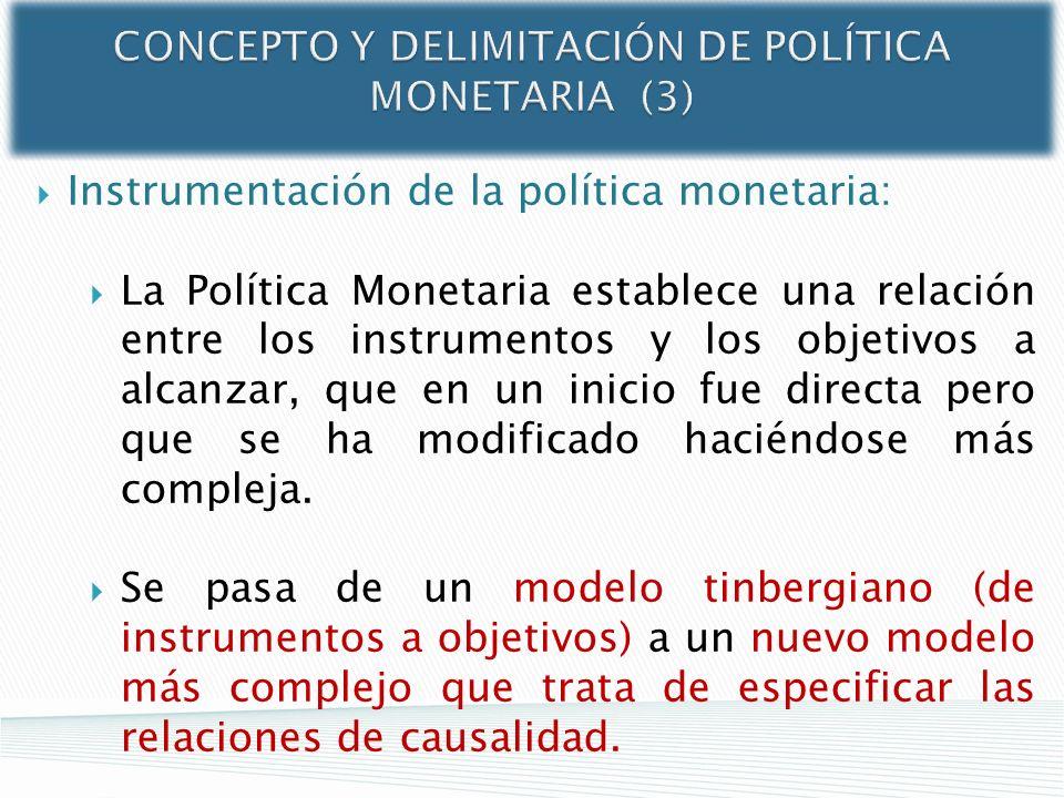 CONCEPTO Y DELIMITACIÓN DE POLÍTICA MONETARIA (3)
