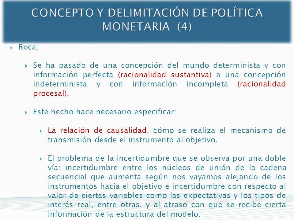 CONCEPTO Y DELIMITACIÓN DE POLÍTICA MONETARIA (4)