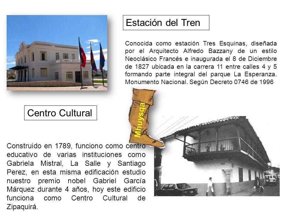 Estación del Tren Centro Cultural Mhuysqa