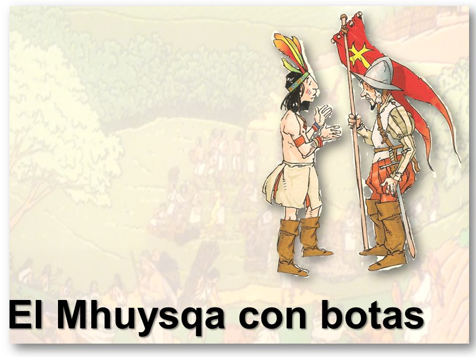 El Mhuysqa con botas