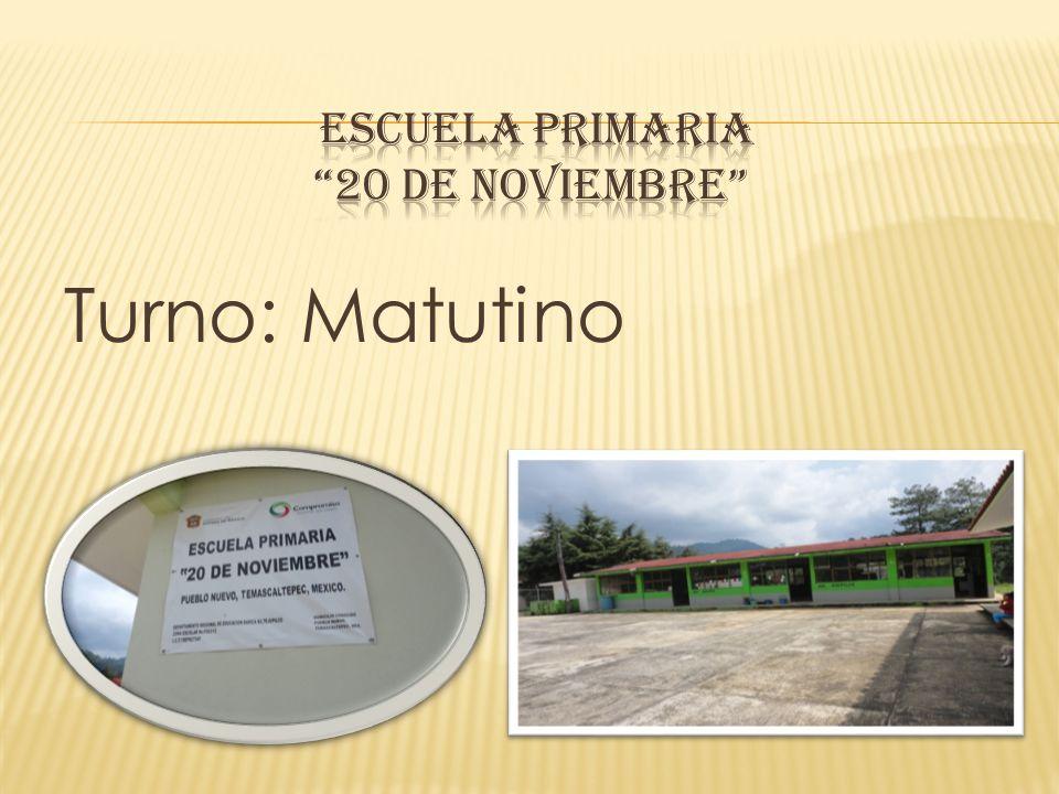 Escuela Primaria 20 DE NOVIEMBRE