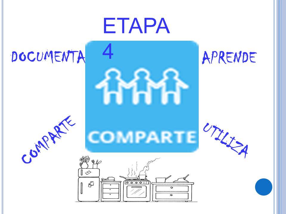ETAPA 4 DOCUMENTA APRENDE COMPARTE UTILIZA