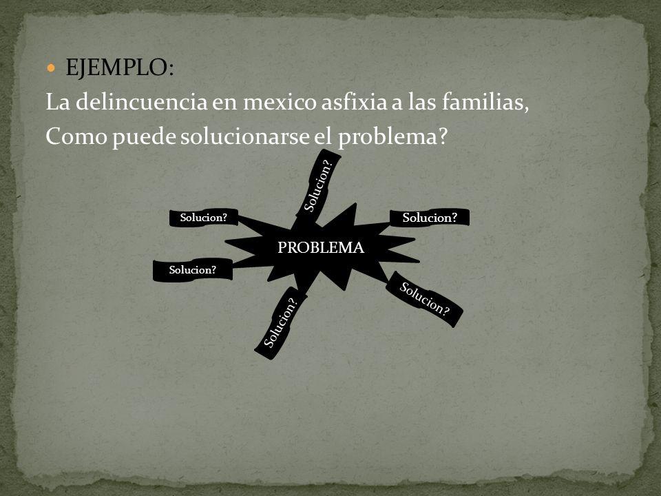 La delincuencia en mexico asfixia a las familias,
