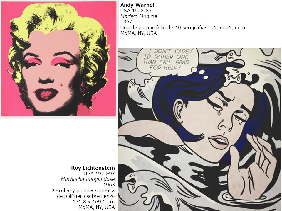 Andy Warhol USA 1928-87. Marilyn Monroe. 1967. Una de un portfolio de 10 serigrafías 91,5x 91,5 cm.