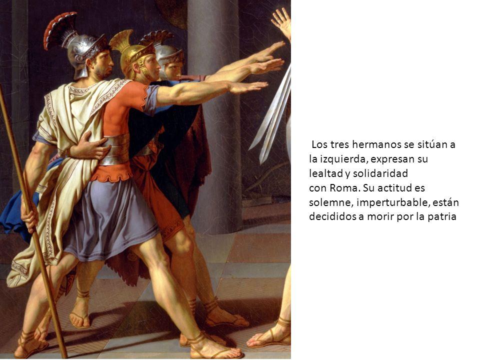 Los tres hermanos se sitúan a la izquierda, expresan su lealtad y solidaridad con Roma.