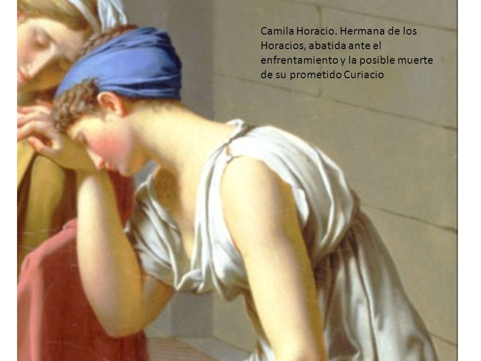 Camila Horacio.