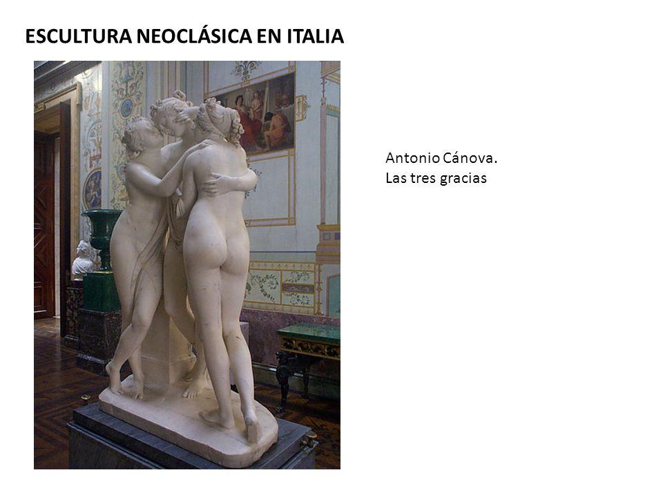 ESCULTURA NEOCLÁSICA EN ITALIA