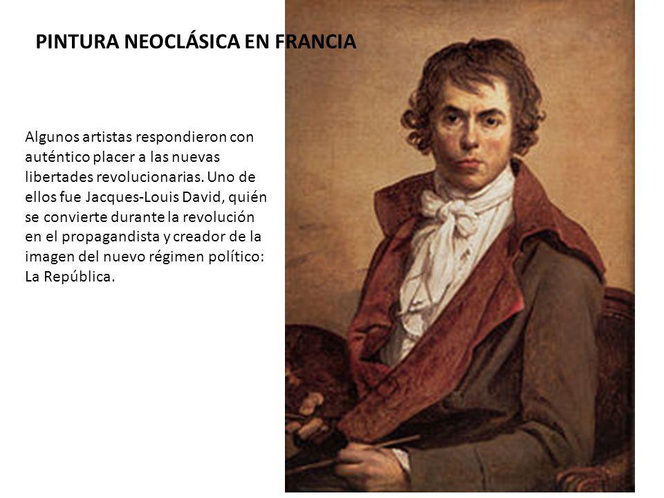 PINTURA NEOCLÁSICA EN FRANCIA