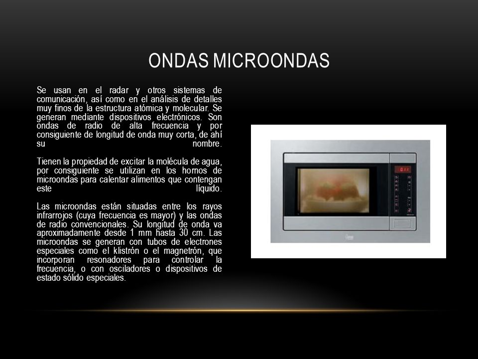 Ondas microondas