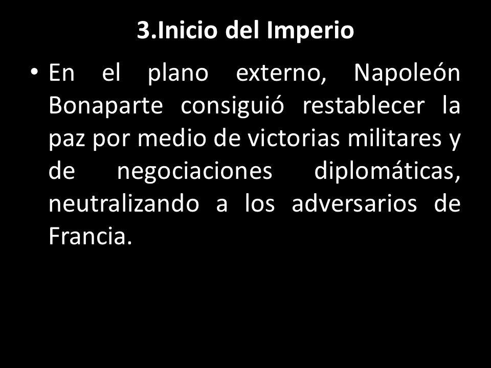 3.Inicio del Imperio