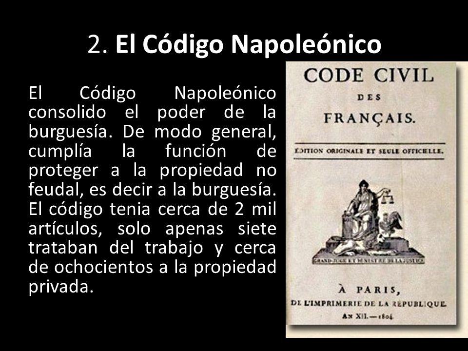 2. El Código Napoleónico