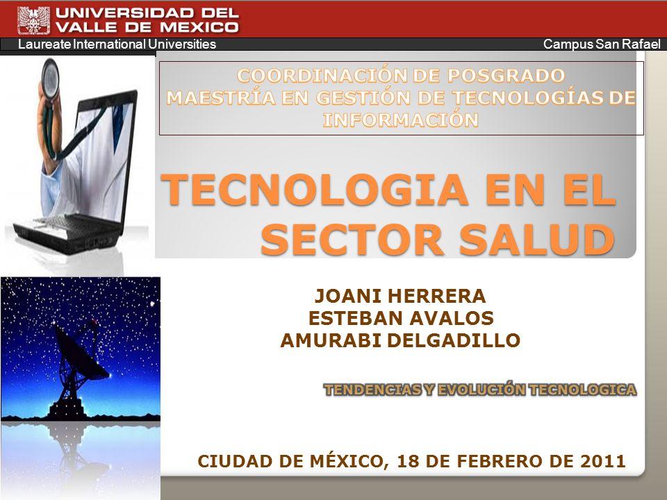 TECNOLOGIA EN EL SECTOR SALUD