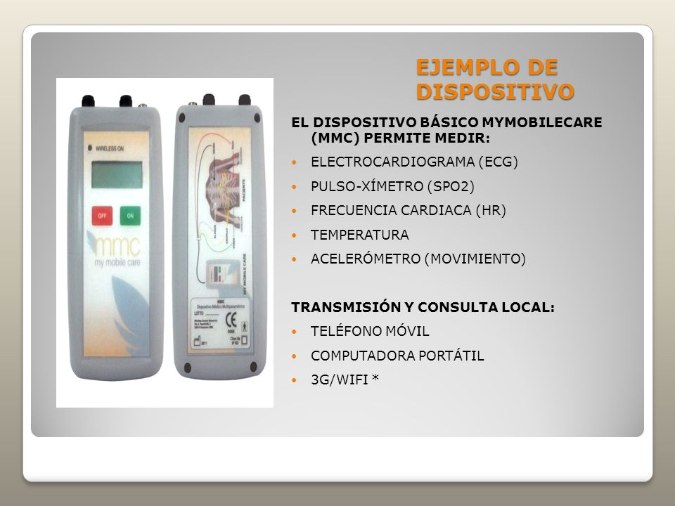 EJEMPLO DE DISPOSITIVO