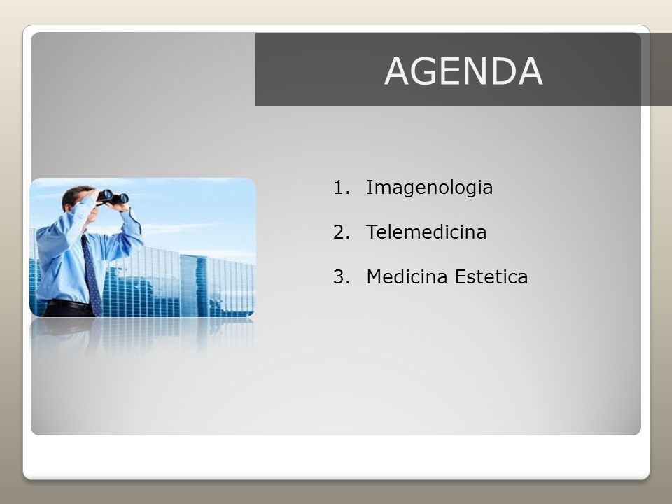 AGENDA Imagenologia Telemedicina Medicina Estetica
