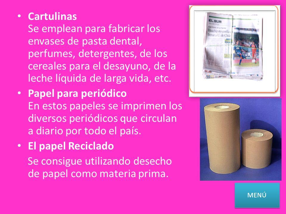 Se consigue utilizando desecho de papel como materia prima.