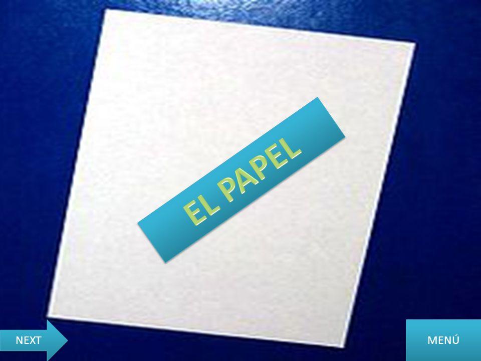 EL PAPEL NEXT MENÚ