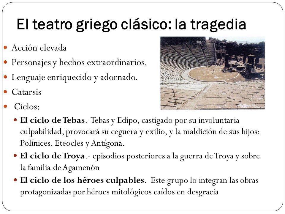 El teatro griego clásico: la tragedia
