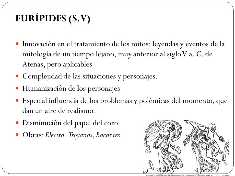 EURÍPIDES (S. V)