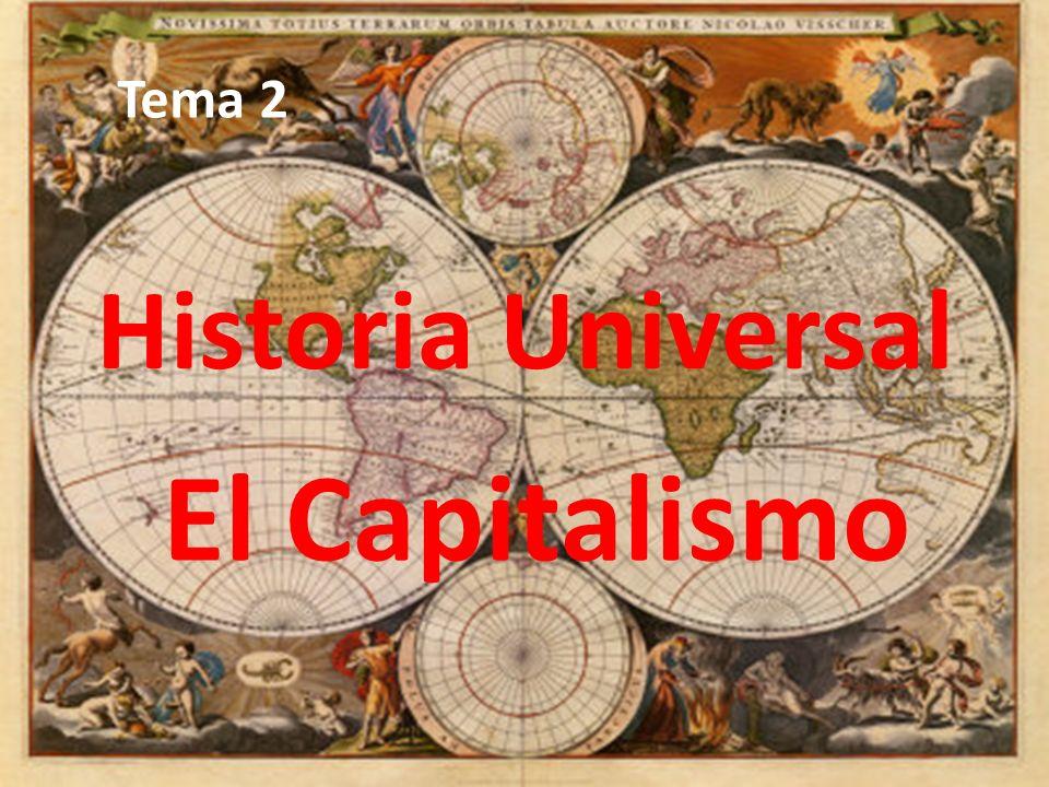Tema 2 Historia Universal El Capitalismo
