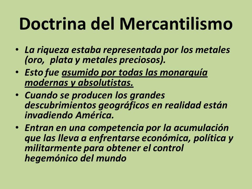 Doctrina del Mercantilismo