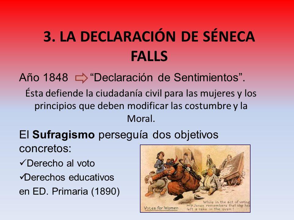 3. LA DECLARACIÓN DE SÉNECA FALLS