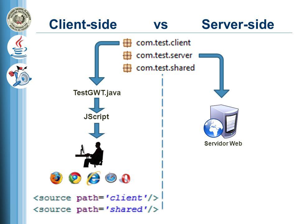 Client-side vs Server-side