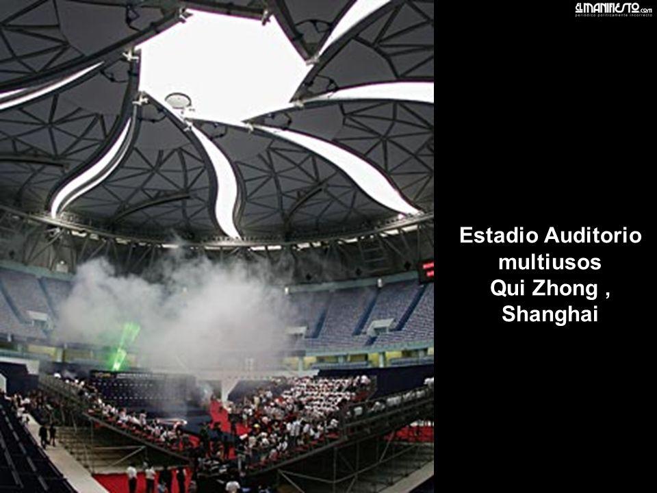 Estadio Auditorio multiusos Qui Zhong , Shanghai