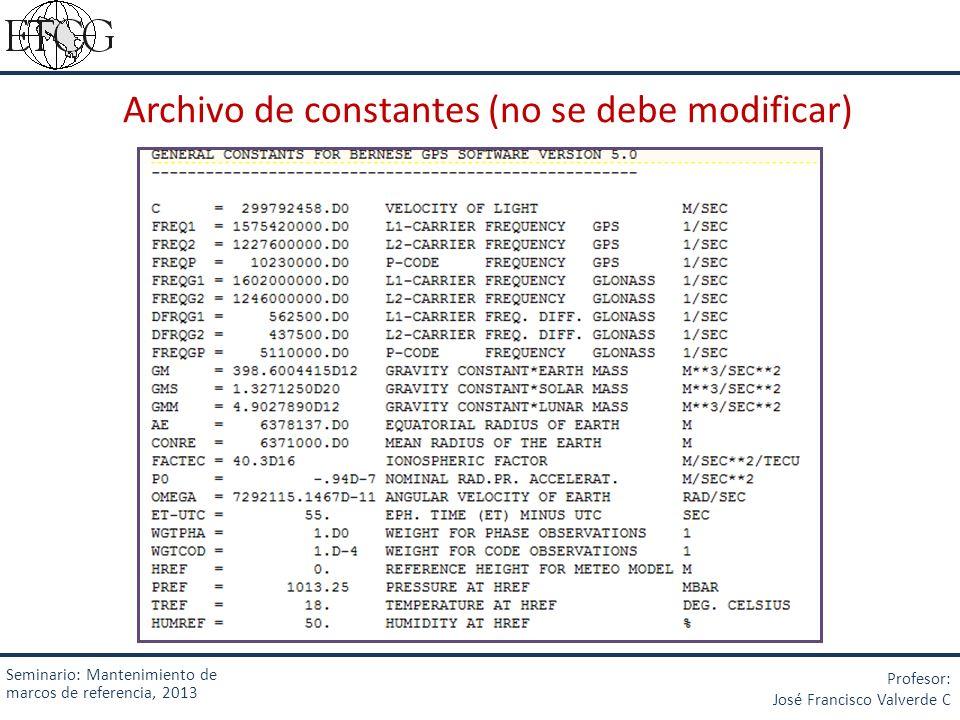 Archivo de constantes (no se debe modificar)