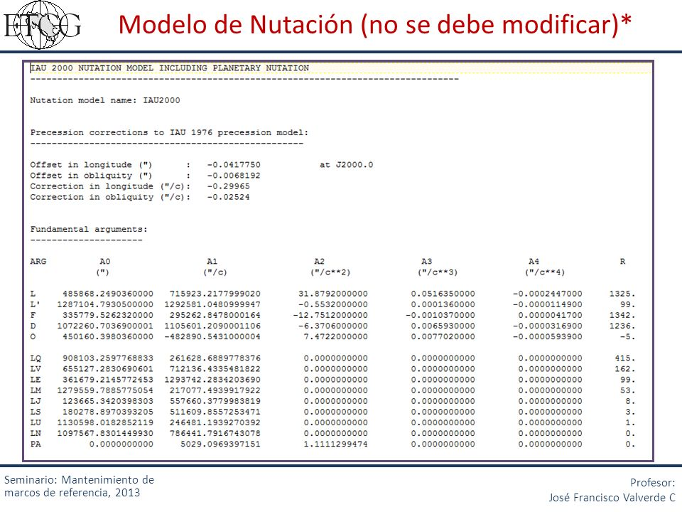 Modelo de Nutación (no se debe modificar)*