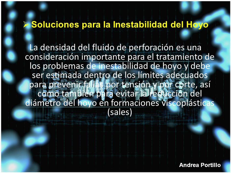 Soluciones para la Inestabilidad del Hoyo