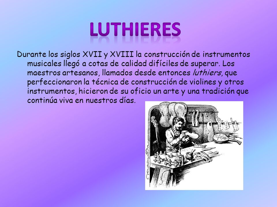 LUTHIERES