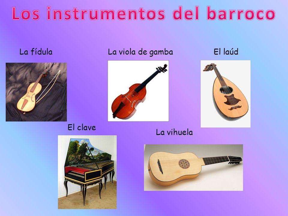 Los instrumentos del barroco