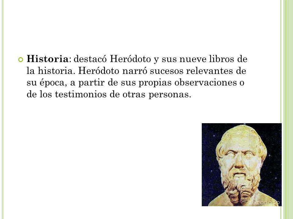 Historia: destacó Heródoto y sus nueve libros de la historia