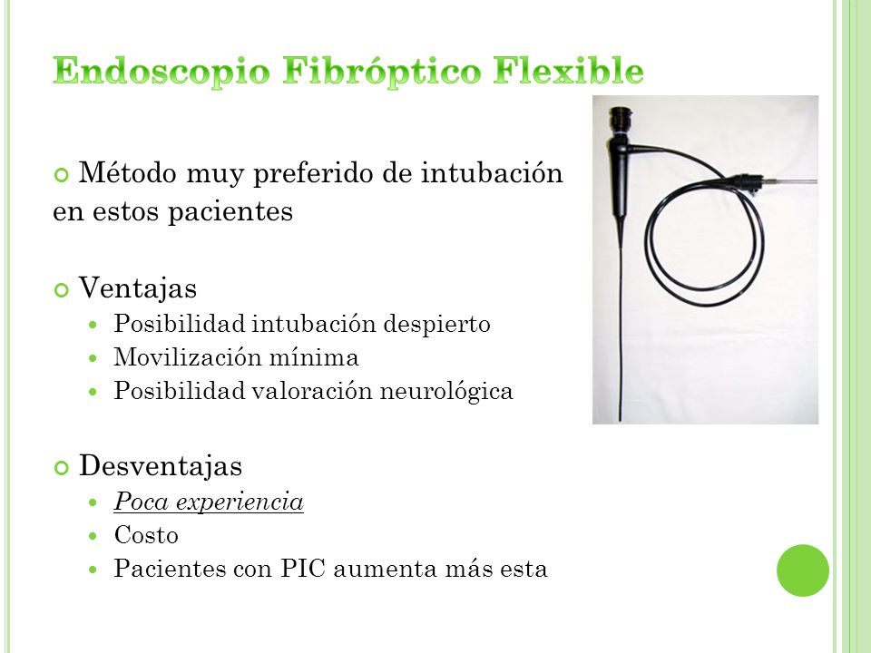 Endoscopio Fibróptico Flexible
