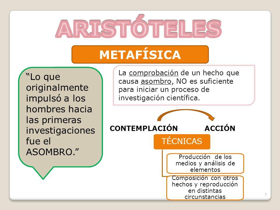 Producción de los medios y análisis de elementos