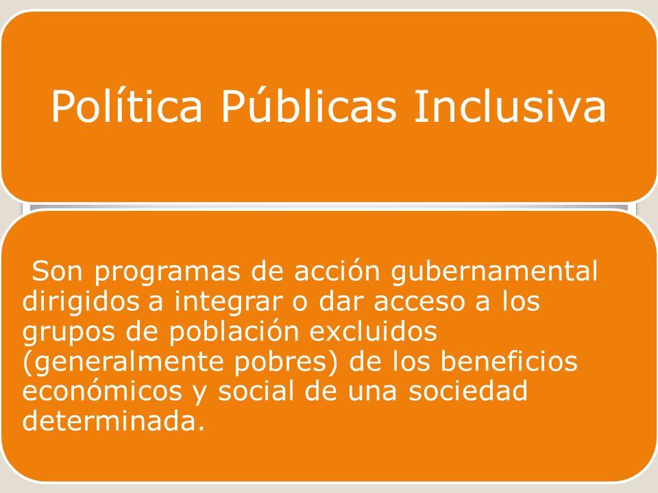 Política Públicas Inclusiva