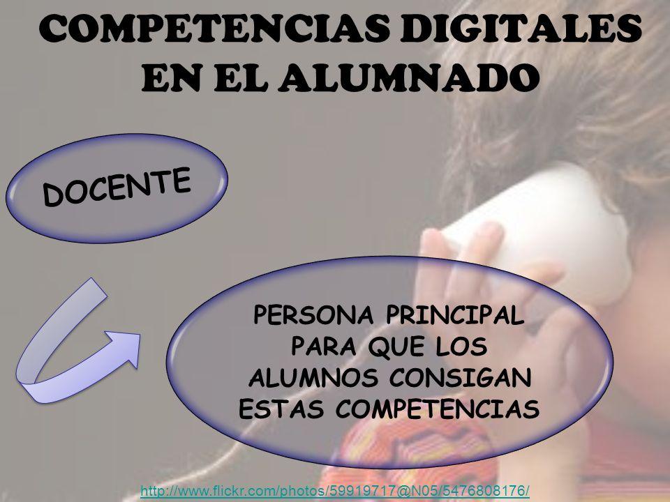 COMPETENCIAS DIGITALES EN EL ALUMNADO