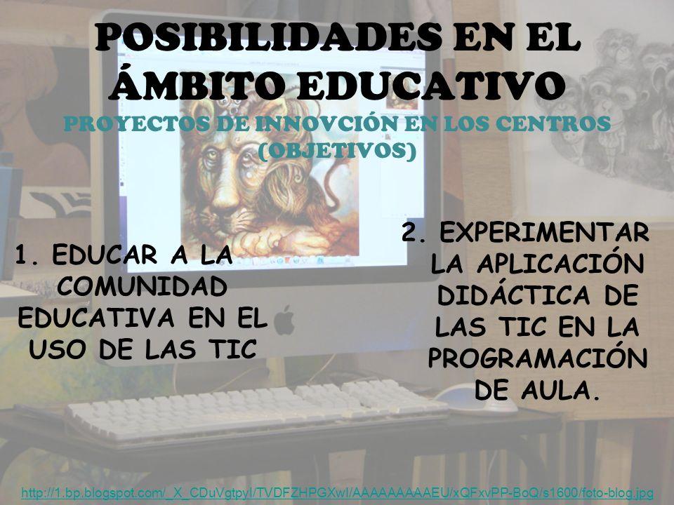1. EDUCAR A LA COMUNIDAD EDUCATIVA EN EL USO DE LAS TIC
